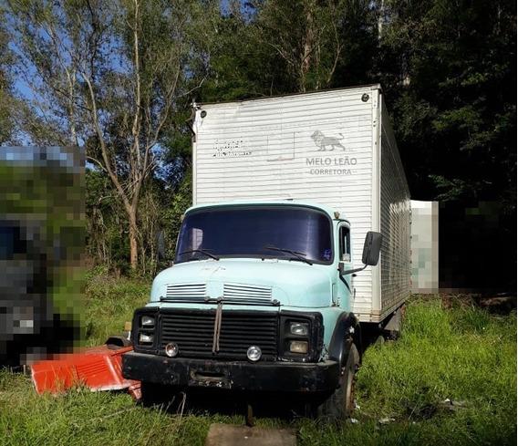 Mb L 2013 - 74/74 - Truck, Baú De 10m, Turbinado, Freio À Ar