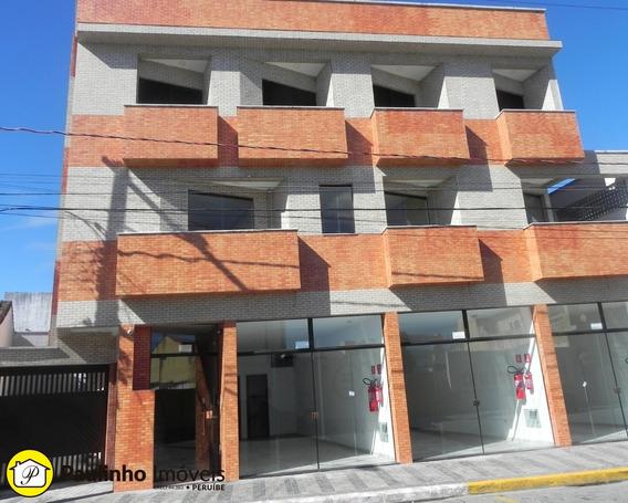 Salão Para Alugar No Centro Da Cidade De Peruíbe. Excelente Ponto Comercial! - Sl00112 - 34005551