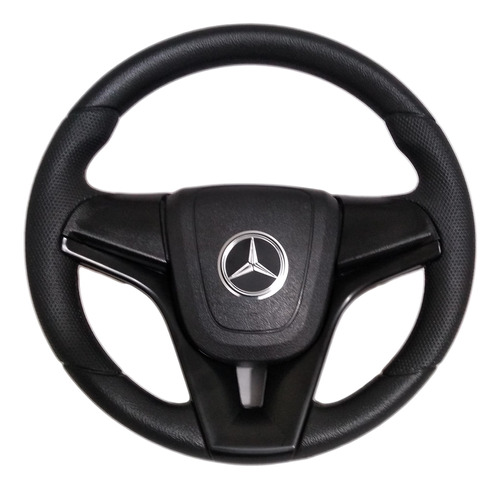 Volante Esportivo Caminhão Mercedes-benz Cruze Preto Mb 2831