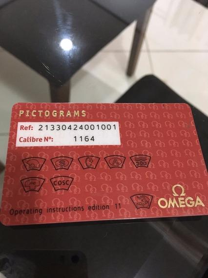Omega Seamaster 41,5mm Chrono Cartão Pictograms Original