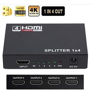 Hdmi Splitter 4k Full Ultra Hd 1080p Hdmi Splitter 1 En 4 Hd