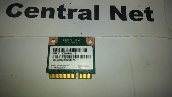 Placa Wirelles Do Notebook Hp Intel Core I3 4005u