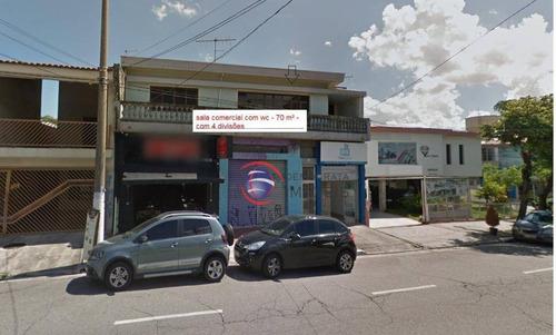 Sala Para Locação, Avenida Itamarati, Santo André - Sa0250. - Sa0250
