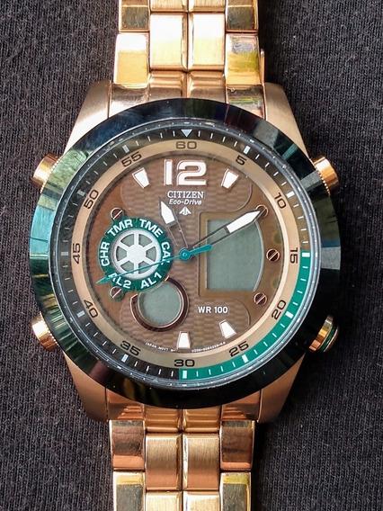 Relógio Citizen Promaster Eco Drive Jz1002-56w * Detalhe *