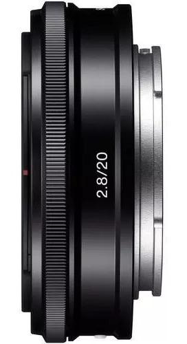 Lente Sony 20mm F/2.8 Grande Angular E-mount Sel20f28