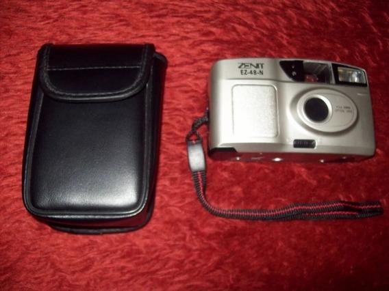 Maquina Fotográfica Zenit Ez-48-n Item Para Colecionador