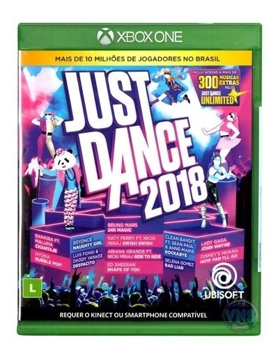 Jogo Xbox One Just Dance 2018
