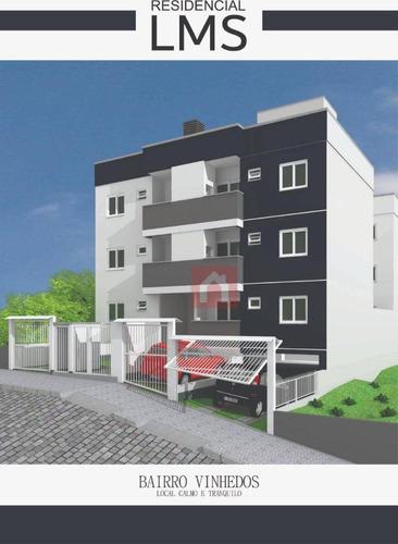 Apartamento Com 2 Dormitórios À Venda, 52 M² Por R$ 180.000,00 - Vinhedos - Caxias Do Sul/rs - Ap1699