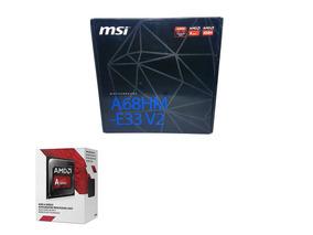 Kit Upgrade Placa Mãe Fm2 + Amd A4 7480 Box - Novo!!!