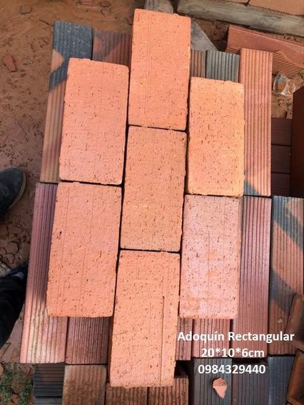 Adoquín Rectangular 20x10x6 Cm