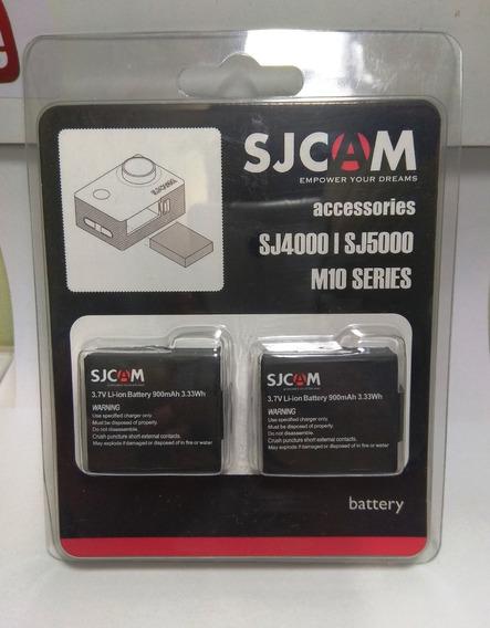 Kit Carregador Duplo+bateria+cartão 32 Gb Pato Motos Jr