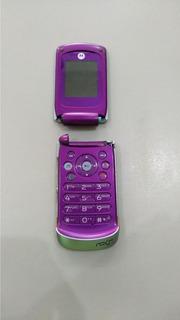 Celular Motorola Em 28 Placa Ligando