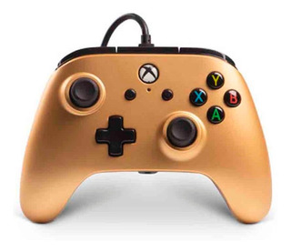 Joystick Gold Power A Oxbox One Y Pc Fact A B