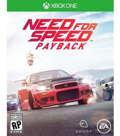 Need For Speed Payback Xbox One Mídia Física