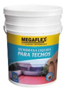 Membrana Liquida Megaflex 20 Kg Emultrans Impermeable Techos Elastico