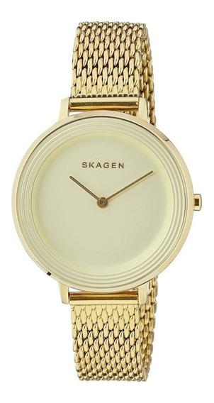Relógio Skagen Ladies Gold Skw2333 - Promoção