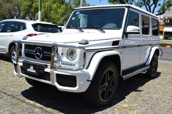 Mercedes Benz Clase G 63 Amg 2016 Blanco