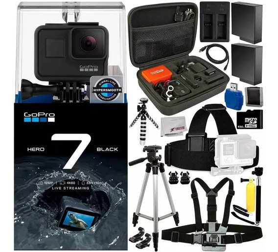 Camara Gopro Hero 7 Black +kit 15 Accesorios