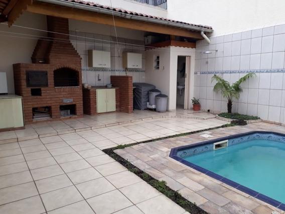 Linda Casa De 3 Dormitórios Com Piscina À Venda No Tatuapé, São Paulo - Ca0061