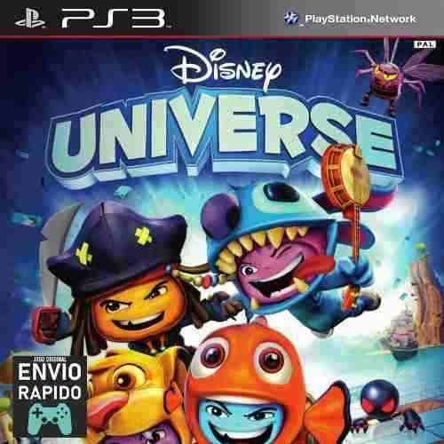 Disney Universe - Multijogador Infantil - Jogos Ps3 Original