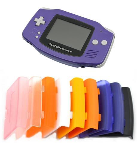 Tapa Bateria Pilas Gba Gameboy Advance Nintendo 14 Colores