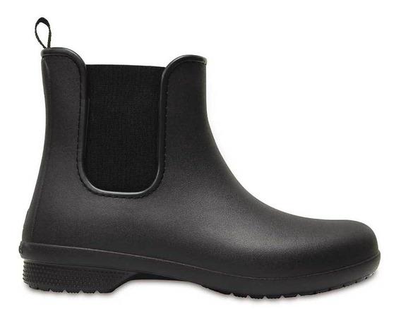 Crocs Freesail Chelsea Boot Negro Mujer