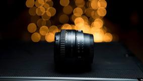 Lente Nikon 50 Mm 1.8 Com Anel Macro E Adaptador Canon