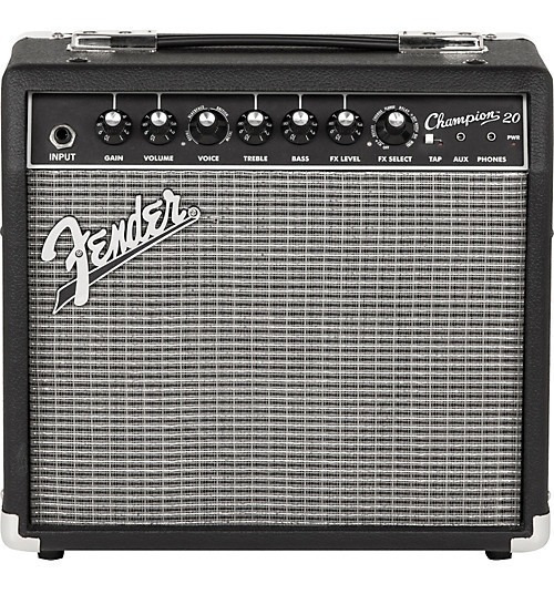 Amplificador Guitarra Electrica Fender Champion 20w