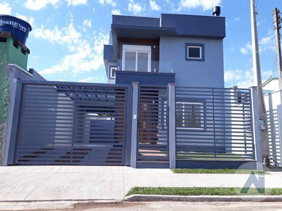 Casa Com 3 Dormitórios À Venda, 119 M² Por R$ 399.000 - Scharlau - São Leopoldo/rs - Ca2705