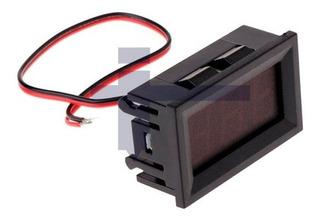 Voltímetro Digital 3 Fios P/cpainelcvermelho 0v-30vcc