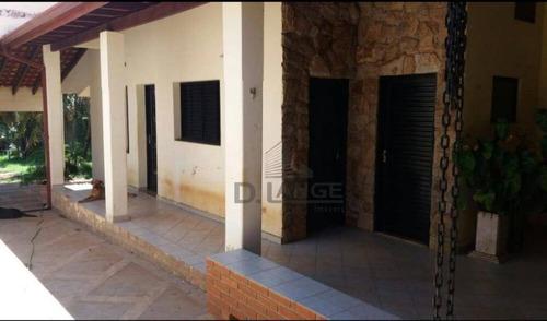 Chácara Com 4 Dormitórios À Venda, 1000 M² Por R$ 750.000,00 - Parque Da Represa - Paulínia/sp - Ch0472