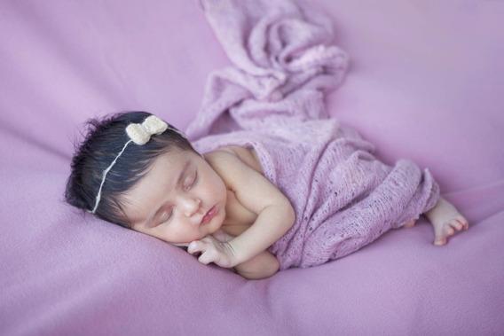 Kit Manta Para Fotografia Newborn + Layer