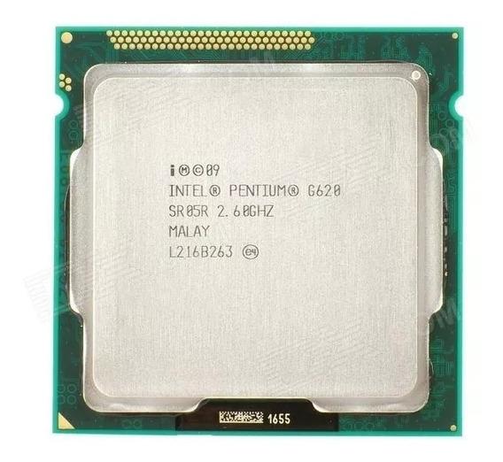 Processador Intel Pentium G620 2.60ghz 3mb Lga1155