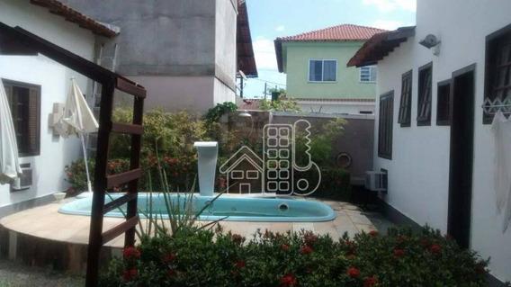 Casa Com 3 Dormitórios À Venda, 251 M² Por R$ 600.000,00 - Itaipu - Niterói/rj - Ca0376