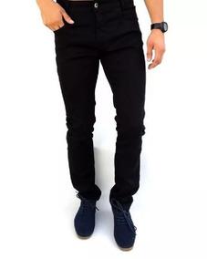 Calça Jeans Sarja Com Lycra Masculina Plus Size Até Nº 66