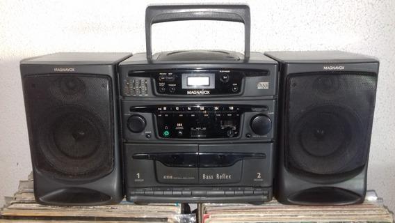 Mini-system Magnavox, Modelo Az-9340 (ler O Anúncio)