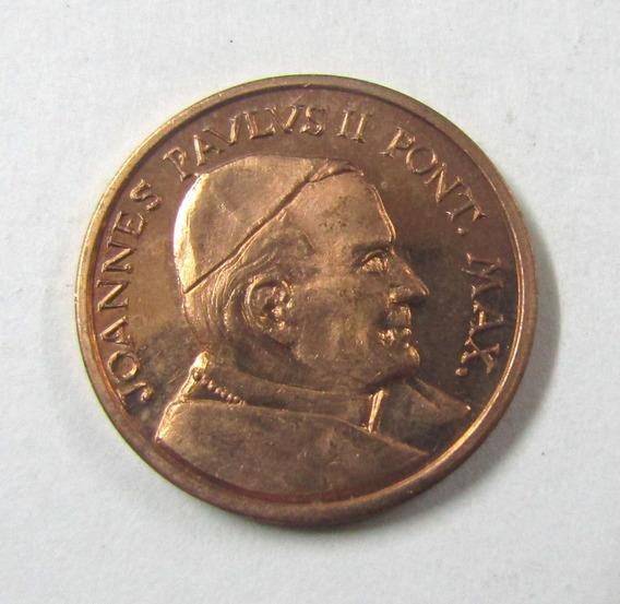 Moneda Vaticano 2000 5 Centavos Ensayo Prueba Juan Pablo I I