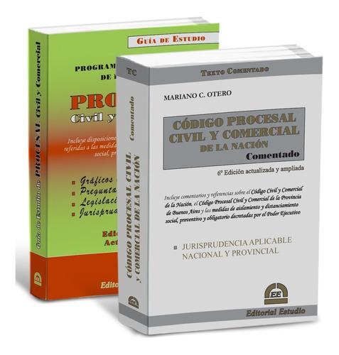 Promo 49 Guia Procesal Civil + Código P. Civ Y Com Coment.