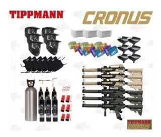 Marcadora 9kg Co2 Gotcha Cronus Tippmann Careta