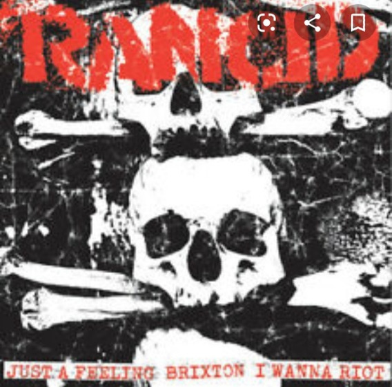 Rancid - Just A Feeling ( Vinilo 7 Usa ) No Cd - Nuevo