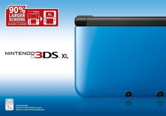 Video Game Nintendo 3ds Xl Usado + 59 Jogos Brinde