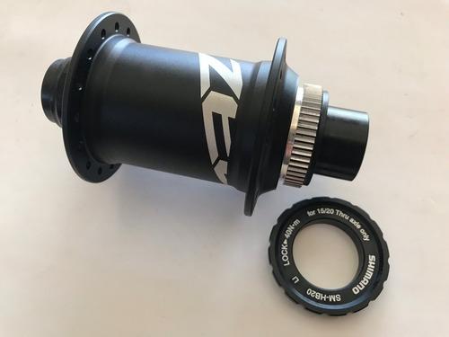 Imagem 1 de 6 de Cubo Dianteiro Shimano Zee M640 32 Furos 20mm Center Lock