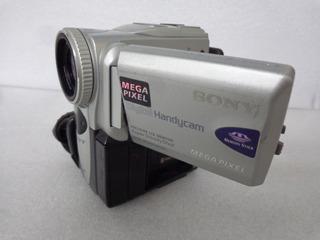 Sony Camera Digital E Fita Novinha Peça Tela Lcd Coleção Ler