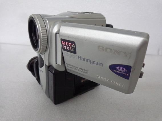 Sony Dcr Câmera Filmadora Digital Cartão Fita =nova Pcoleção