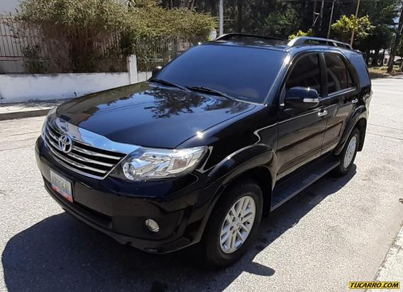 Toyota Fortuner 4x4 3ra Fila