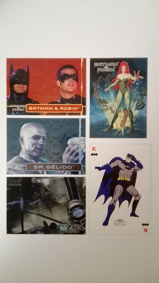 Tarjetas Batman & Robin