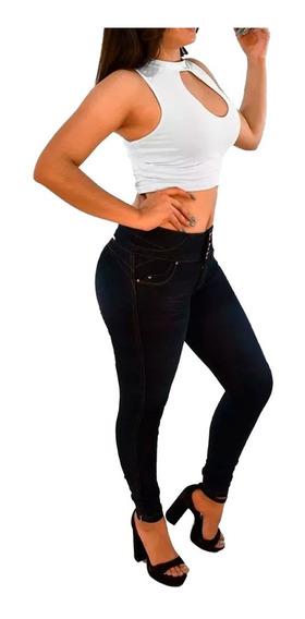 Pantalones Colmbianos Jeans Dama Pantalon De Mezclilla Mujer Strech Varias Tallas Calidad Levanta Pompa Push Up -01