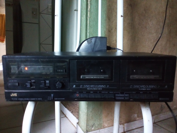 Jvc Stereo Cassette Deck Td-w1o6 Funcionando