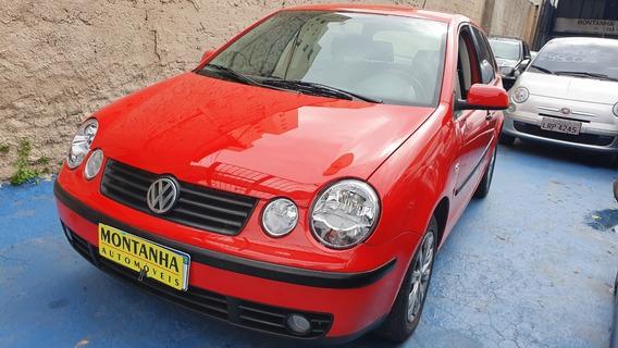 Vw Polo 1.6 C/ 58000km Ano 2003 Montanha Automoveis
