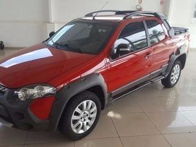 Fiat Strada Adventure 1.8 Cd Vermelha